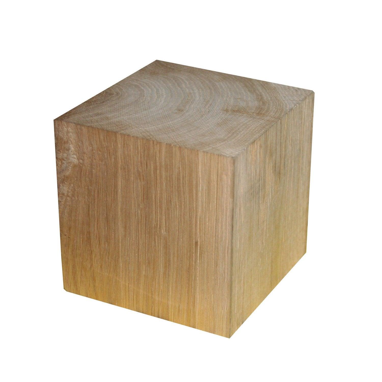 Cube Ch Ne Les Bois Massifs Et Imitants Bois Leroy Merlin # Etagere En Planche Brute