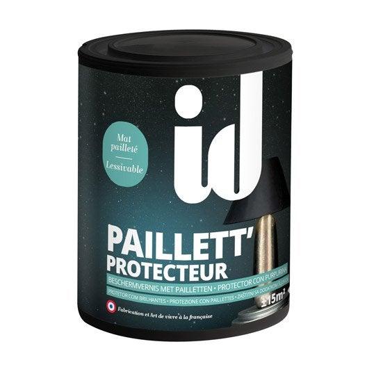 Peinture à effet, Paillett' ID, incolore, 0.75 l