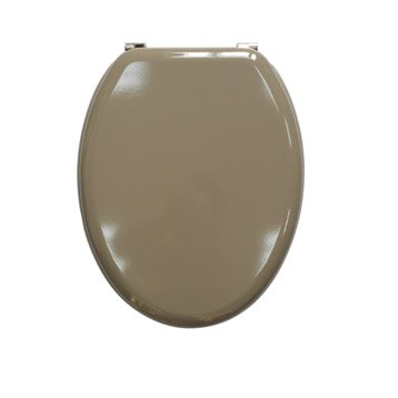 Abattant wc sensea young brun taupe n 3 - Accessoires wc leroy merlin ...