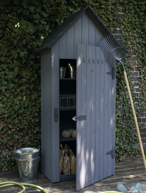 Bien choisir son abri de jardin leroy merlin - Garage bois toit plat leroy merlin ...