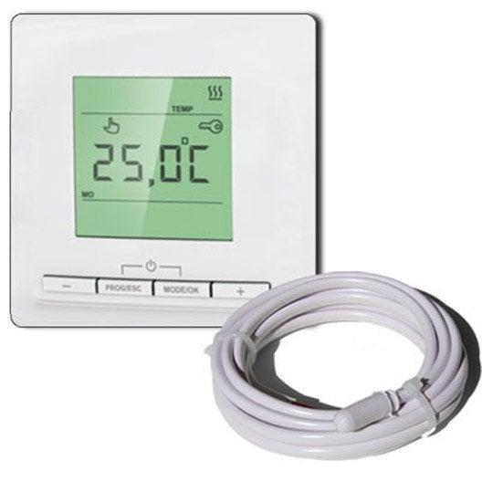 Thermostat électronique EQUATION Tp520 3520 W L.100 x l.100 cm
