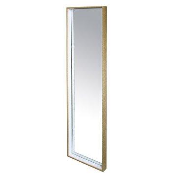 Miroir Bicolore, chêne clair, l.30 x H.120 cm