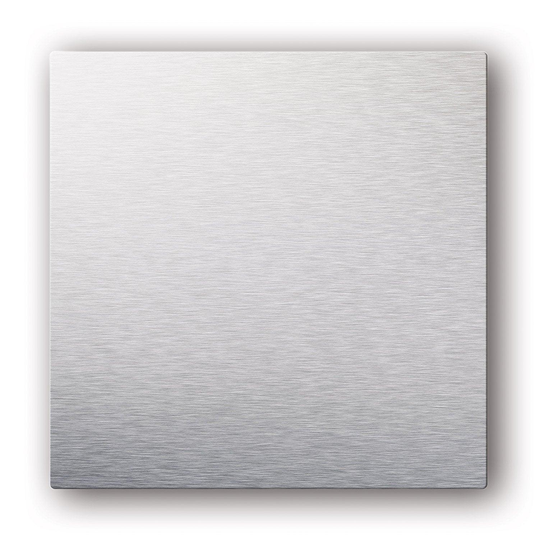 Plaque Design Pour Grille De Ventilation Aspect Métal Colorline