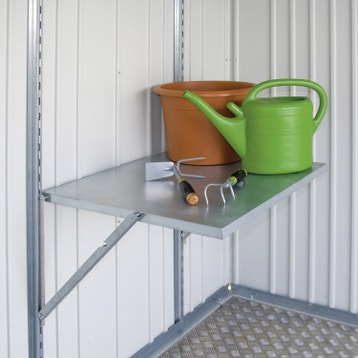 accessoire abri de jardin au meilleur prix leroy merlin. Black Bedroom Furniture Sets. Home Design Ideas