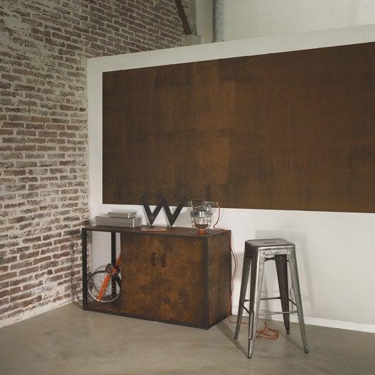 peinture effet fusion m tal maison deco effet rouille 0 5 l leroy merlin. Black Bedroom Furniture Sets. Home Design Ideas