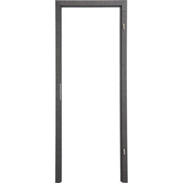 Bâti ajustable pour porte londres 73 cm, poussant gauche décor chêne grisé