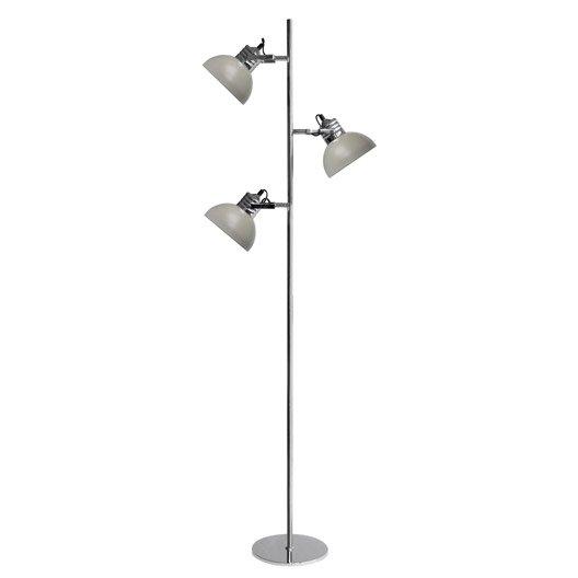 lampadaire charlie 150 cm beige 40 w leroy merlin. Black Bedroom Furniture Sets. Home Design Ideas