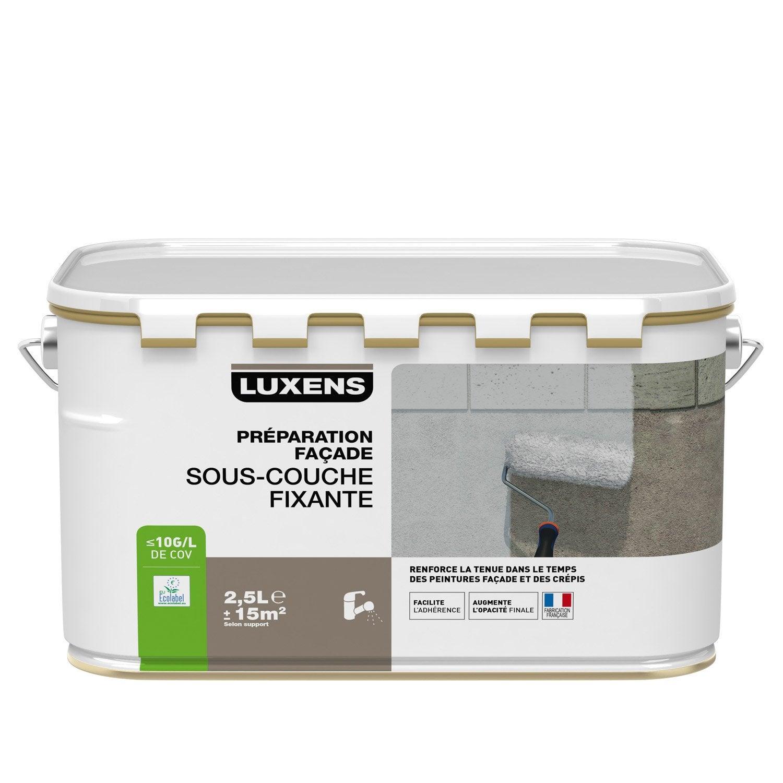Great Sous Couche Façade LUXENS, Blanc Grisé, 2.5 L