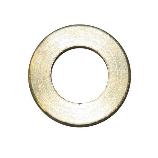 lot de 4 rondelles laiton brut h2 x l25 x p25 mm