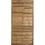 Panneau bois plein Mateo, l.90 cm x h.180 cm, marron