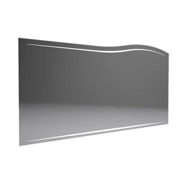 Miroir avec éclairage intégré l.130.0 cm, DECOTEC Elégance