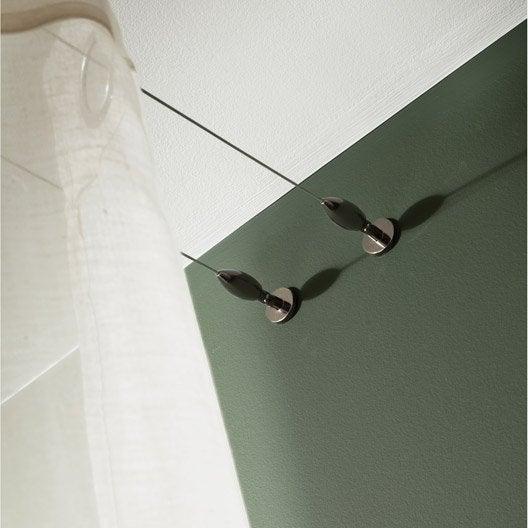 kit complet c ble pour mur et plafond platinium black. Black Bedroom Furniture Sets. Home Design Ideas