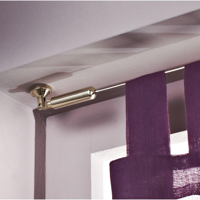 Tringle Pour Plafond câble seul pour plafond, chromé, l.4 m   leroy merlin