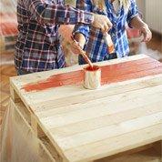 Comment réaliser du mobilier avec des palettes en une journée ?