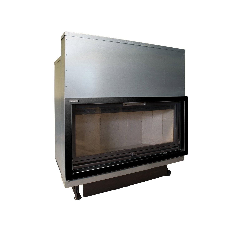 insert bois fa ade droite artwood plasma 107 cm 14 5 kw leroy merlin. Black Bedroom Furniture Sets. Home Design Ideas