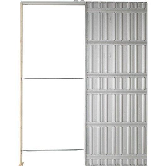 Poser une porte coulissante galandage - Lapeyre