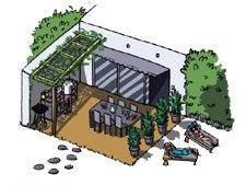 bien am nager sa terrasse leroy merlin. Black Bedroom Furniture Sets. Home Design Ideas