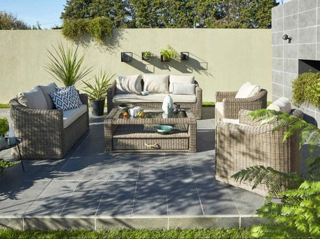 bien am nager sa terrasse leroy merlin. Black Bedroom Furniture Sets. Home Design Ideas