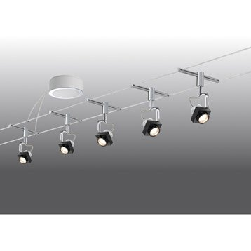 Kit câble Phase LED 5 x 5 W PAULMANN