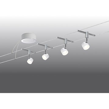 Kit câble Stage LED 4 x 5 W PAULMANN