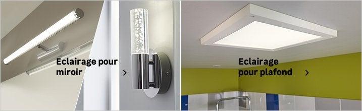 Eclairage Salle De Bains Luminaire Interieur Au Meilleur Prix