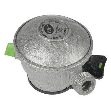 Détendeur inox gaz butane 5, H.6.5 cm GAZINOX