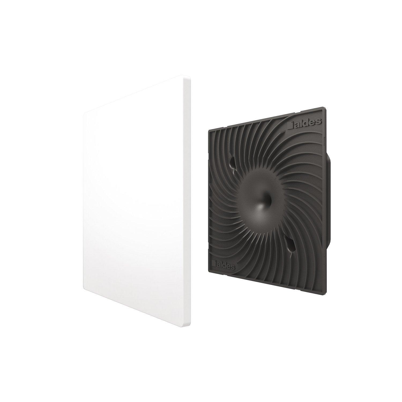 Kit Grille De Ventilation D125 Mm En Blanc Colorline Aldes Leroy