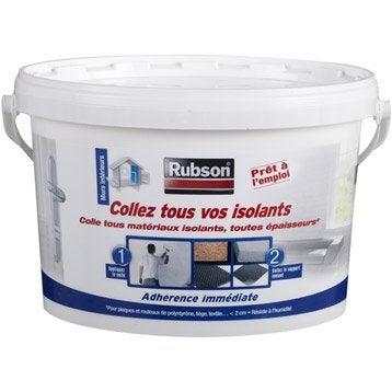 Colle pour matériaux isolants universelle RUBSON l.242 x L.167 mm, Ep.188 mm