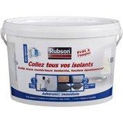 Colle pour matériaux isolants universelle RUBSON l.277 x L.185 mm, Ep.198 mm