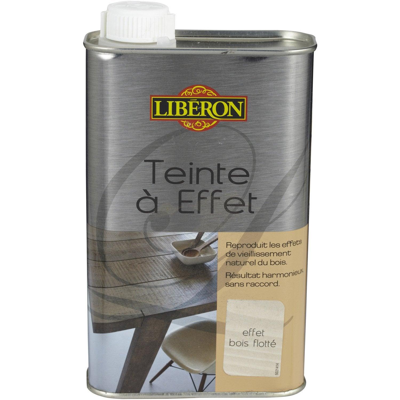 Teinte A Effet Liberon 0 5l Bois Flotte Leroy Merlin ~ Comment Enlever Le Vernis Sur Du Bois