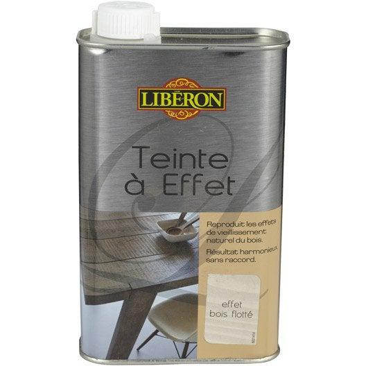 Teinte effet liberon 0 5 l effet bois flott leroy for Magasin bois flotte