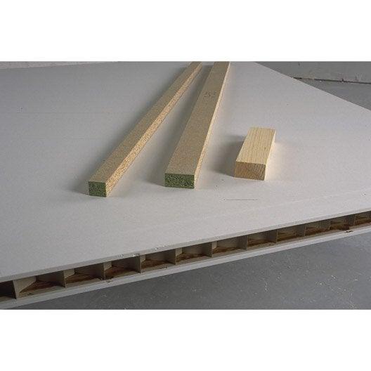 cloison alv olaire ce 2 5 x 0 6 m ep 5 cm leroy merlin. Black Bedroom Furniture Sets. Home Design Ideas