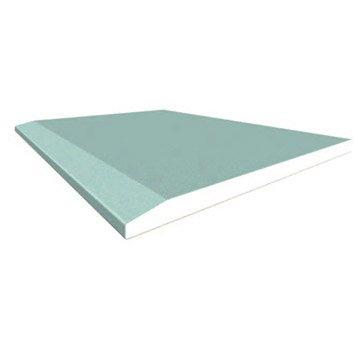 Plaque de plâtre Hydro NF H1 1,25 x 0,9 m, BA13