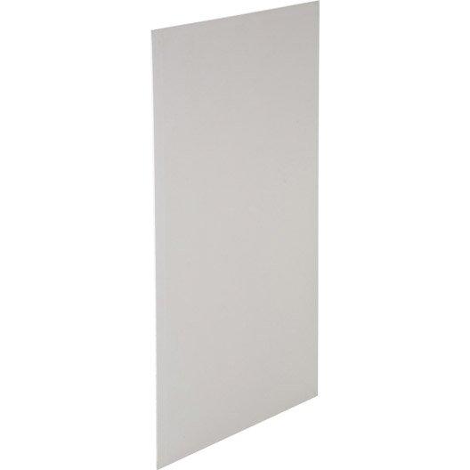Plaque de plâtre 4 bords amincis NF 2.4 x 1.2, BA13, entraxe 60 cm