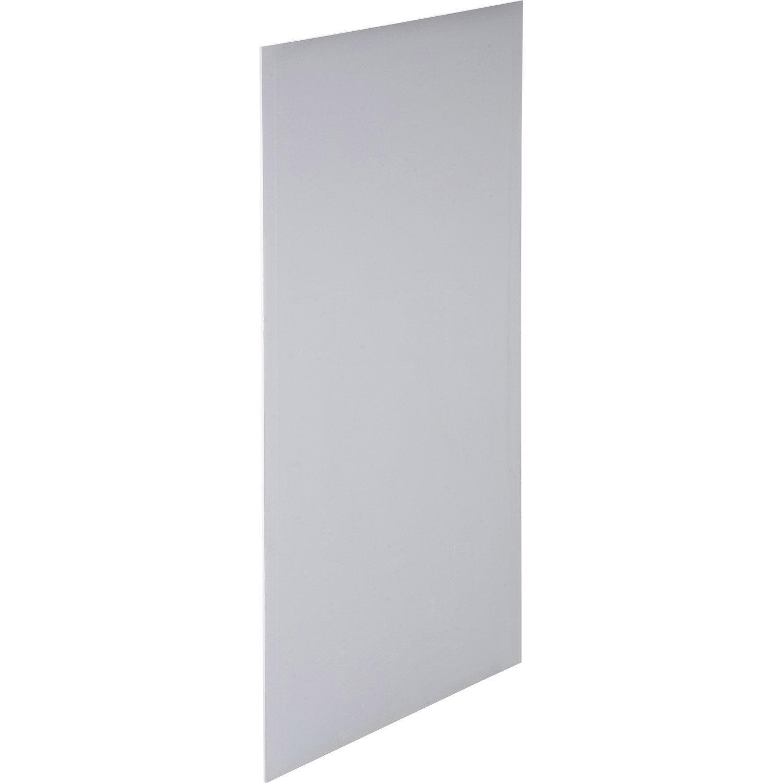 Plaque de pl tre panelplac phonik nf 2 6 x 1 2 m ba13 entraxe 60 cm leroy merlin - Placo 4 bords amincis castorama ...