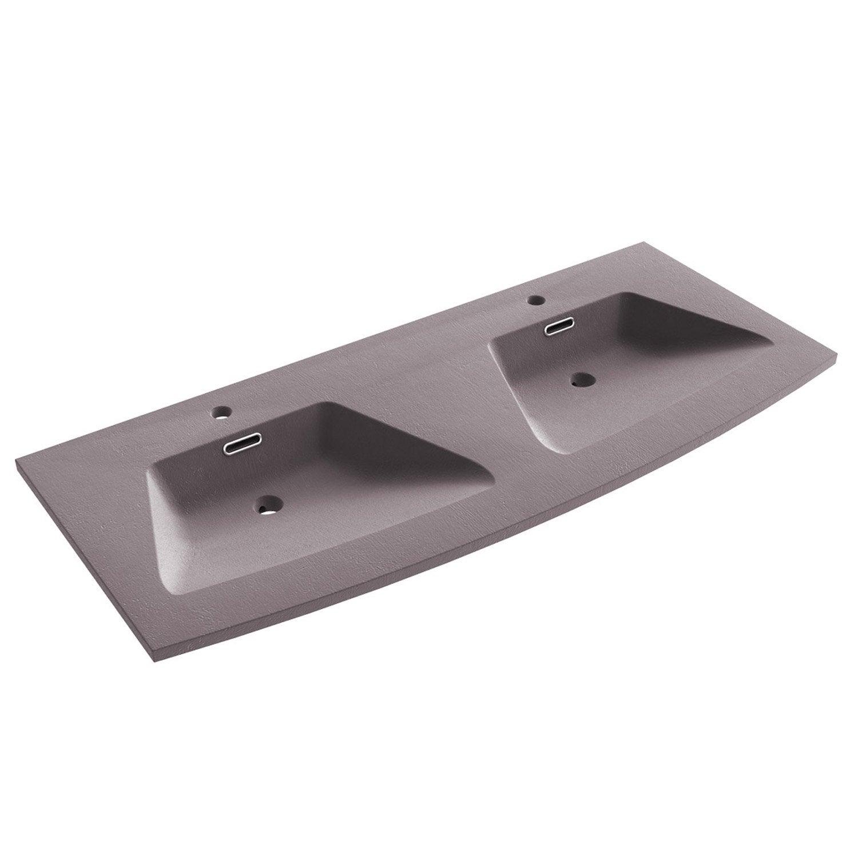 plan vasque double fairway resine de synthese 120 cm 5 Superbe Double Vasque Salle De Bain 120 Cm Galerie 2018 Ldkt