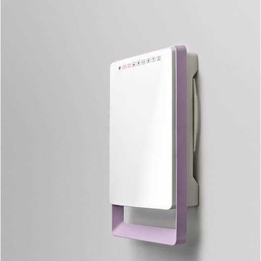 radiateur soufflant salle de bain fixe lectrique aurora touch parme 1800 w leroy merlin. Black Bedroom Furniture Sets. Home Design Ideas