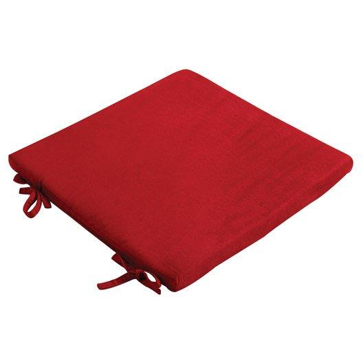 Galette De Chaise Su De Rouge Rouge N 3 40 X 40 Cm