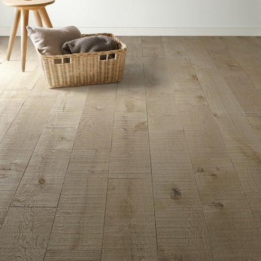 parquet massif ch ne gris sci huil xxl long premium. Black Bedroom Furniture Sets. Home Design Ideas