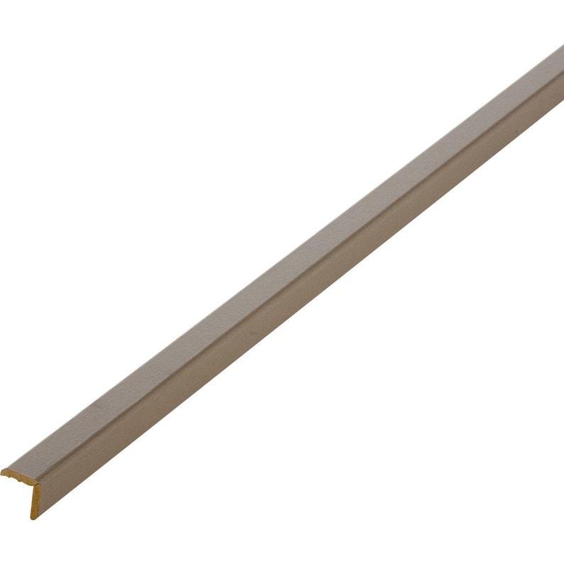 Baguette Dangle Médium Mdf Brun Taupe 3 20 X 20 Mm L24 M
