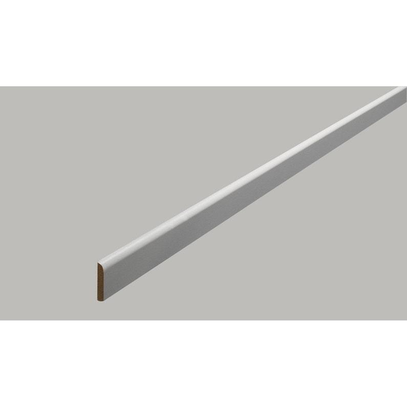 Champlat Médium Mdf 2 Arrondis Gris Galet 5 4 X 30 Mm L24 M