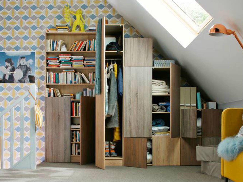 Cr er un espace dressing leroy merlin - Solution rangement petit espace ...