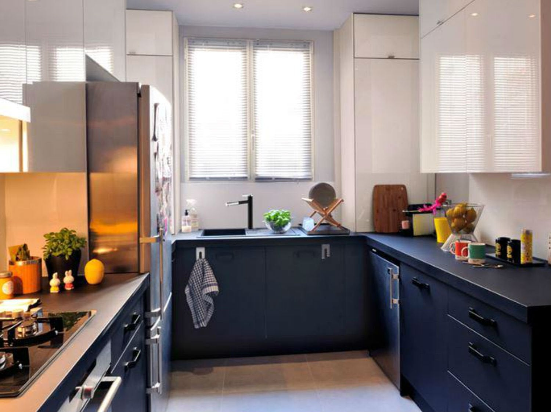 Une cuisine de 18m pour toute la famille leroy merlin for Deco cuisine 9m2