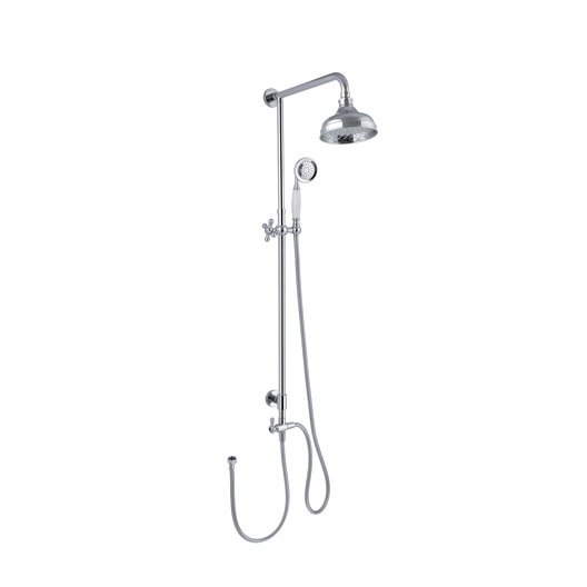 barre et colonne de douche salle de bains au meilleur prix leroy merlin. Black Bedroom Furniture Sets. Home Design Ideas