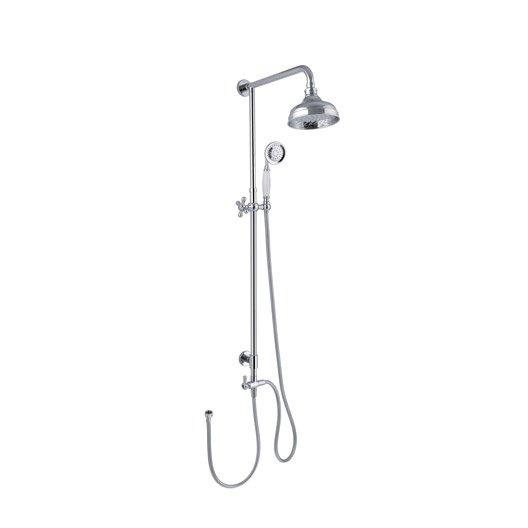 Colonne de douche sans robinetterie, SENSEA Retro
