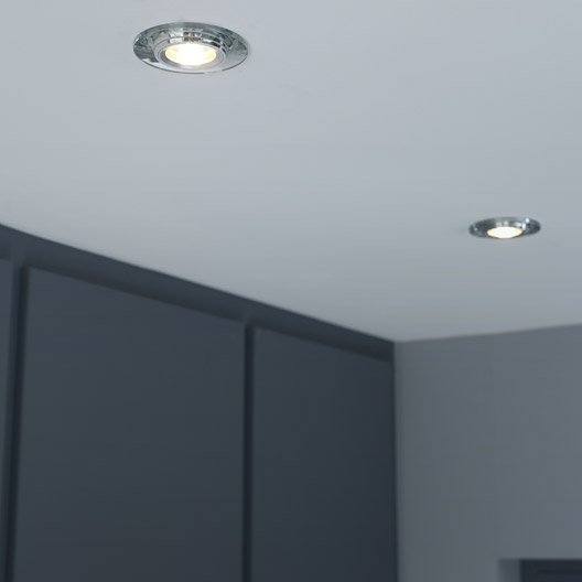 anneau pour spot encastrer rende fixe inspire transparent leroy merlin. Black Bedroom Furniture Sets. Home Design Ideas