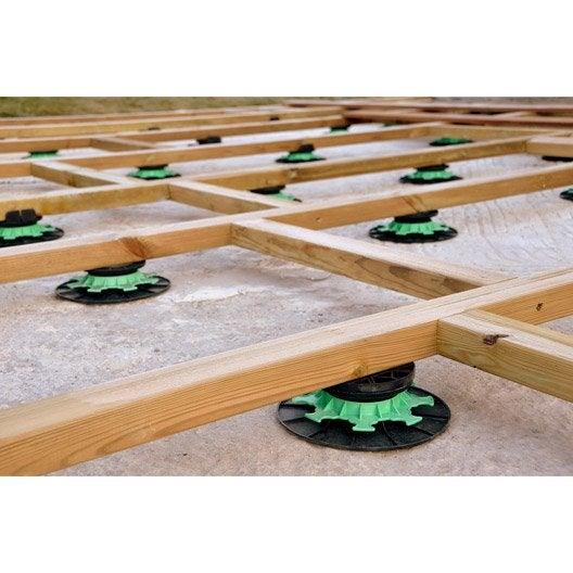 Plot terrasse bois au meilleur prix Leroy Merlin # Plot Terrasse Bois Leroy Merlin