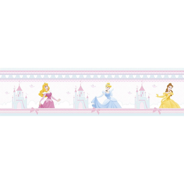 Frise vinyle adhésive Princesse L.5 m x l.15 cm   Leroy Merlin