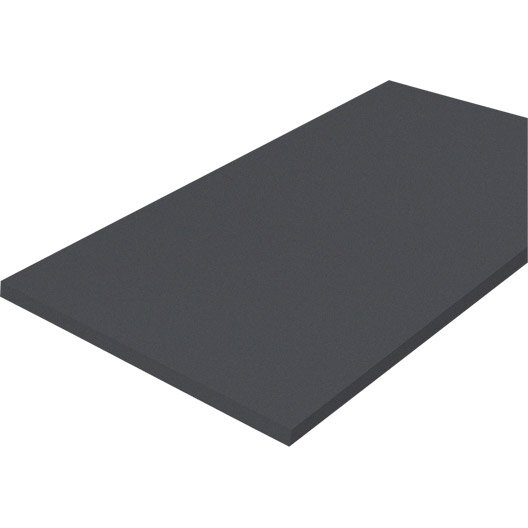 plateau de table m lamin laqu 120 x 80 cm 18 mm leroy merlin. Black Bedroom Furniture Sets. Home Design Ideas