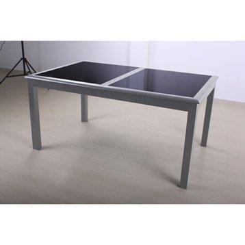 Table de jardin salon de jardin table et chaise leroy - Salon de jardin hesperide azua taupe ...